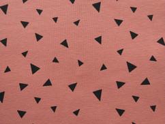 Oudroze driehoekjes