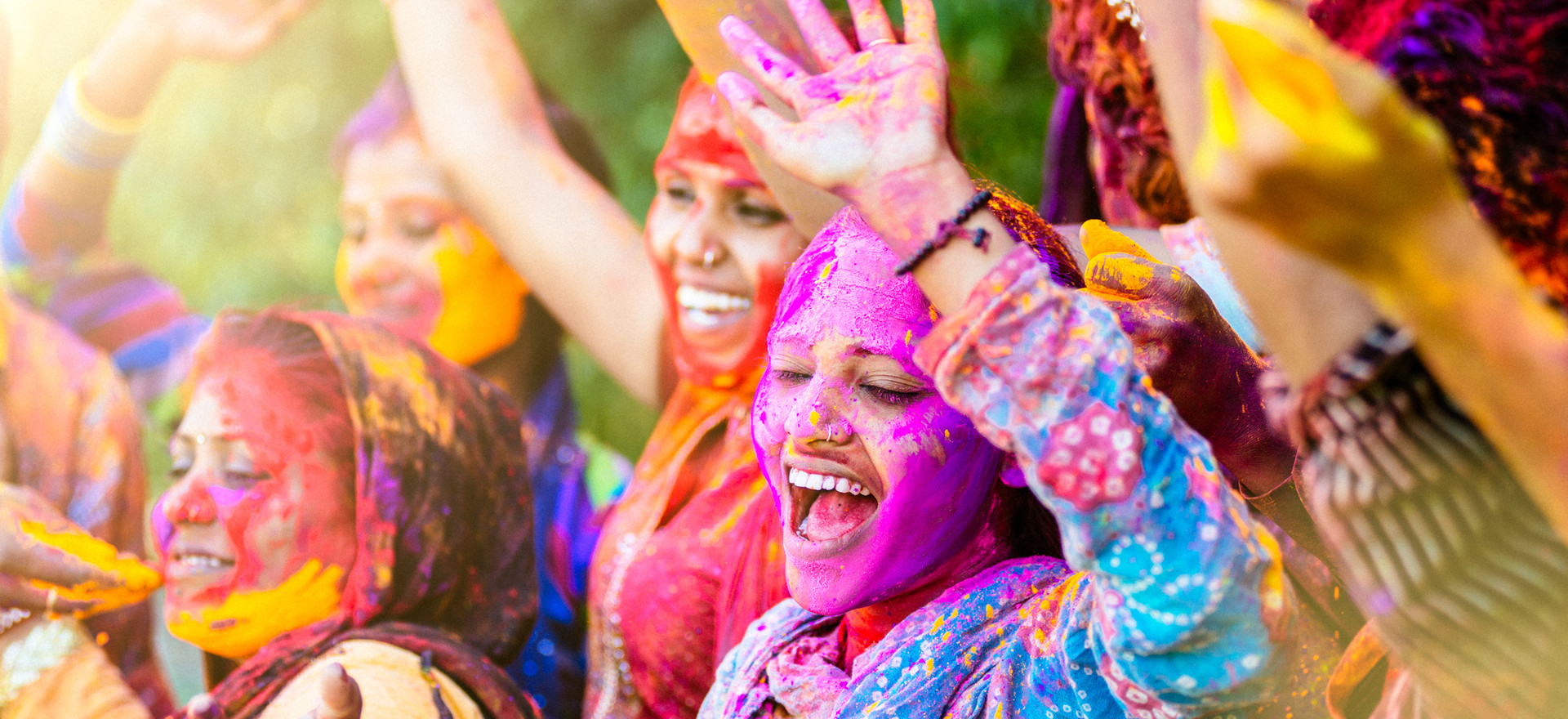 Festival of Color Indien
