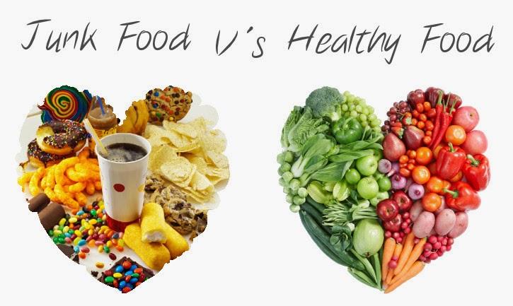 junkfood vs healthfood