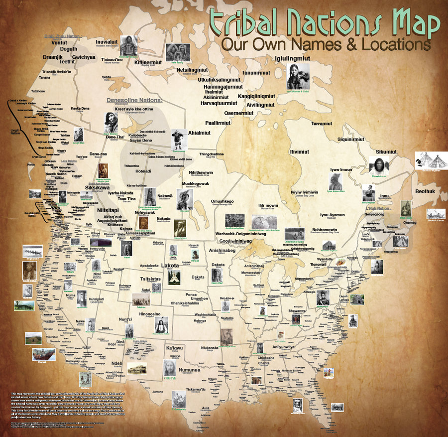 tribal nations map
