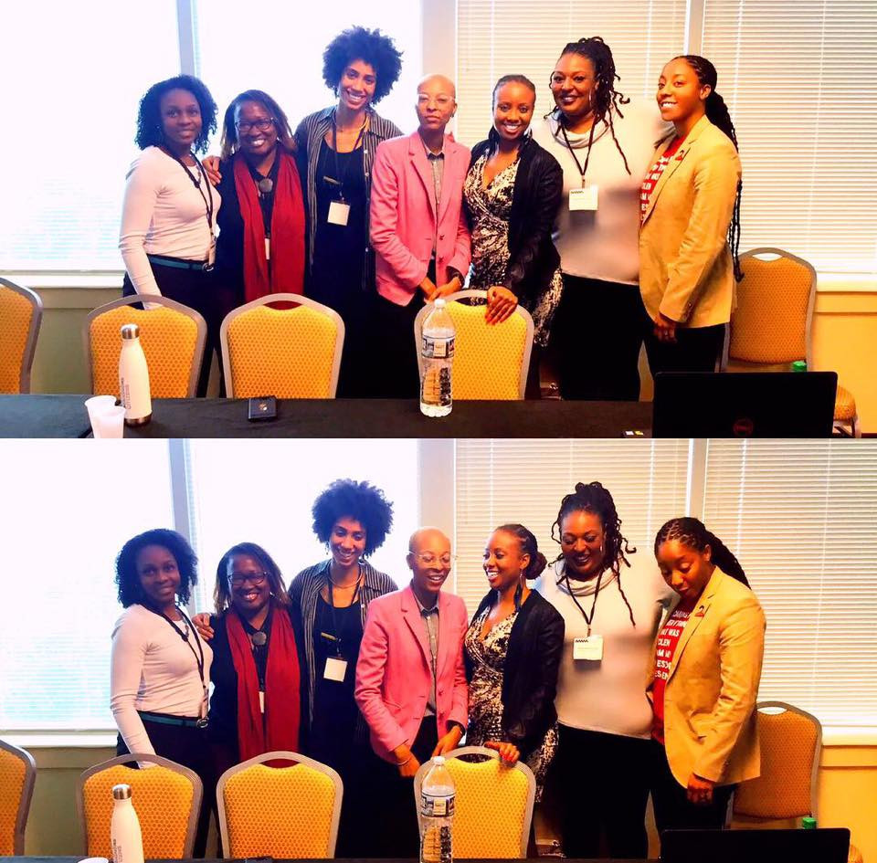 dr. robin brooks, dr. tabitha chester, ife williams, dr. treva lindsey, dr. kaila adia story-jackson, dr. k.t. ewing