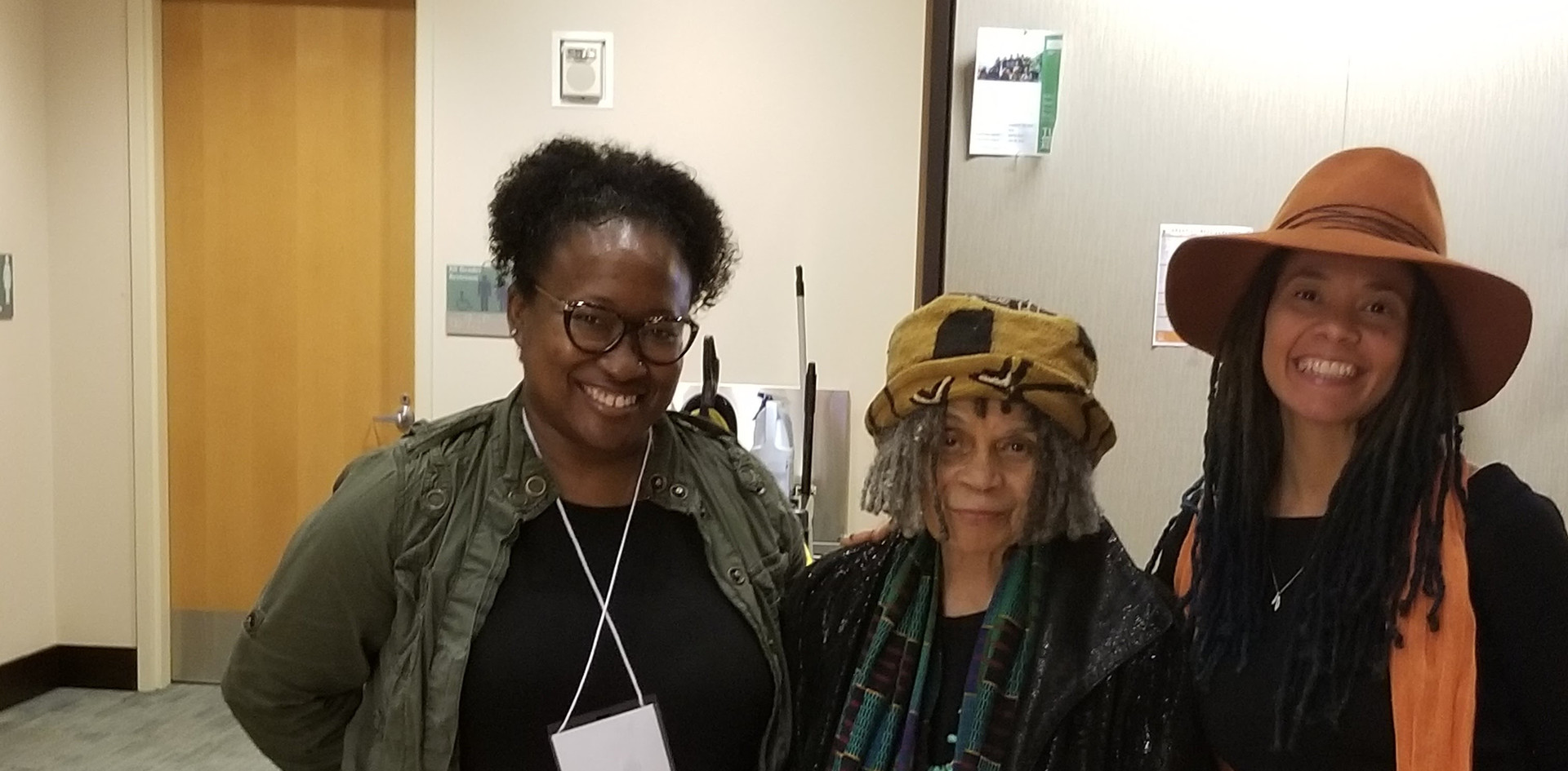 sister-mother sonia sanchez, jessica Care moore