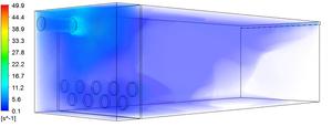CFD Model Orifice G-value