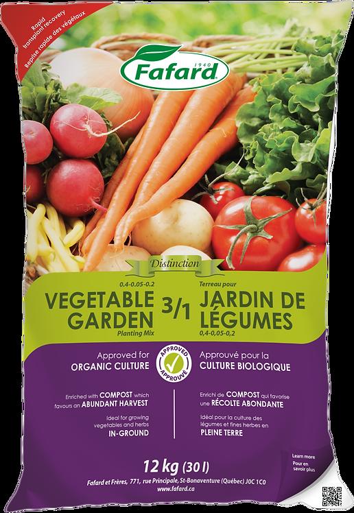 3/1 Vegetables Garden Planting Mix  30 L Bag