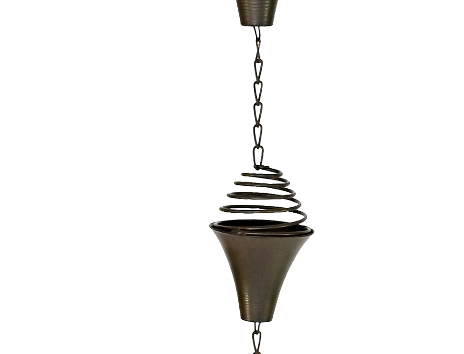 Spring Cup Rain Chain