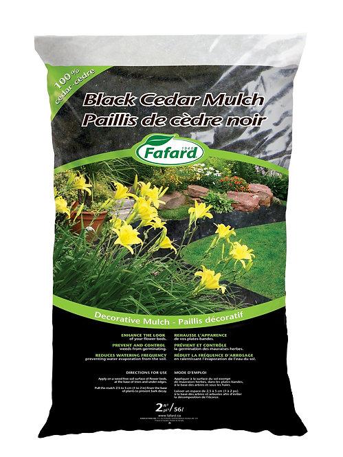 Black Cedar Mulch 56L