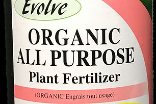 Evolve Organic Fertilizer