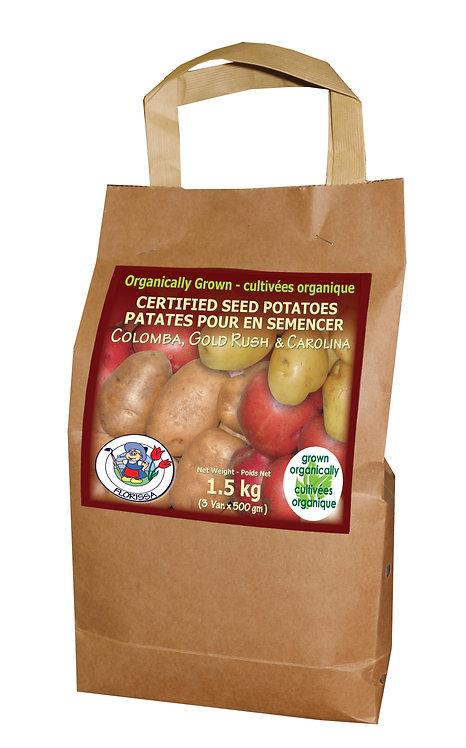 Combo Organic Potato Sack No.1 1.5 kg