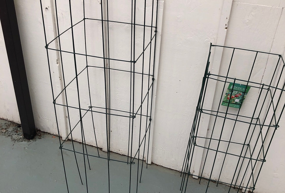 """47"""" Folding Tomato Cage and Plant Support"""