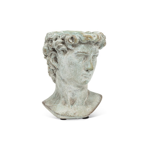 "Extra Small Male Head Planter-6""H"