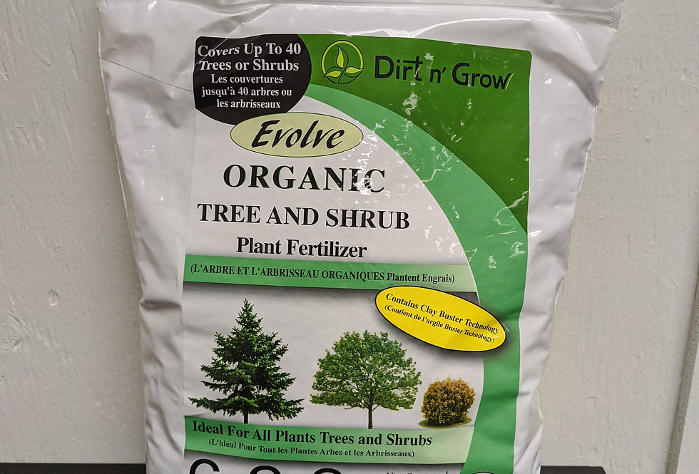 EVOLVE Organic Tree and Shrub 6-2-2  2.5KG