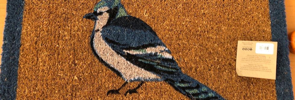 Blue Jay Doormat
