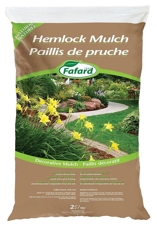 Hemlock Mulch 56 L Bag