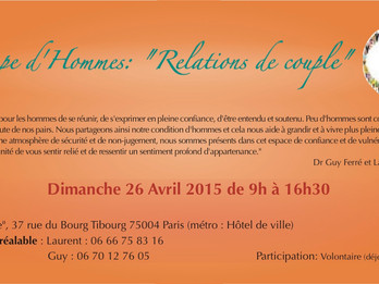 26 Avril : Groupe d'hommes, Paris