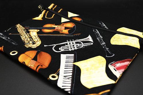 Ordner-Täschchen Klassische Instrumente