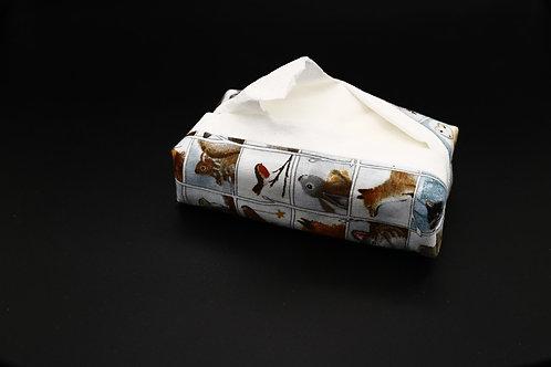 Tatütä Wintertiere Ansicht mit Taschentüchern