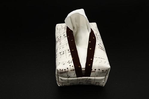Tatütä Musiknoten Ansicht mit Taschentüchern