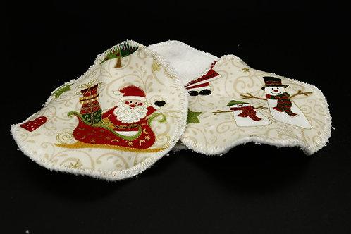 Abschminkpads Weihnachten Dreierset