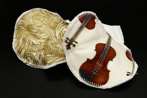 Abschminkpads Violine Dreierset