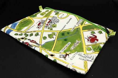 Ordner-Täschchen London Stadtplan