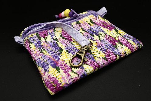 Schlüssel-Täschchen Blumenwiese