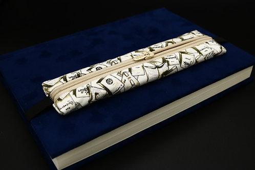Notizbuch-Täschchen Bücher