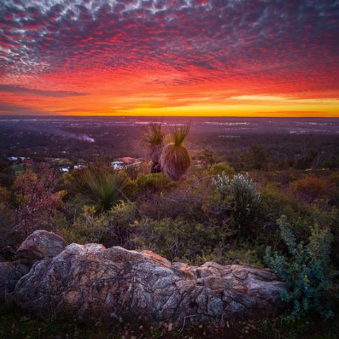Perth Hills Sunset