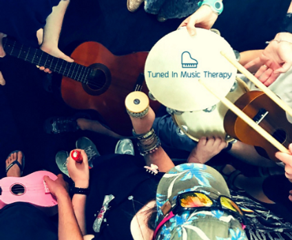 tuned in music therapy