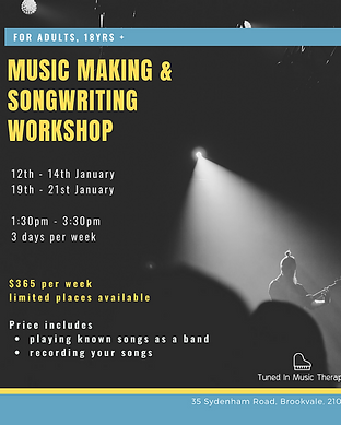 Music Making & Songwriting Workshops