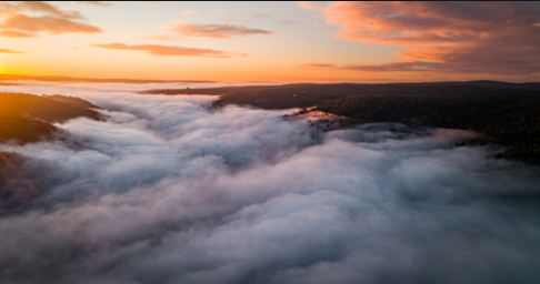 River Of Fog - Perth Hills