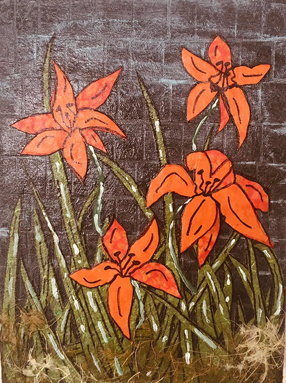 """Flowers of Forsyth - Tiger Lillies #4"""