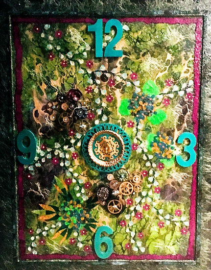 """Grapevines Clock"" SOLD"