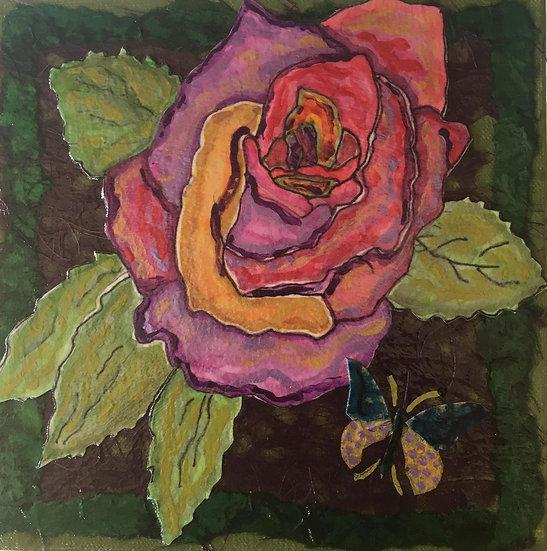 """""""Flowers of Forsyth- Garden Rose"""""""