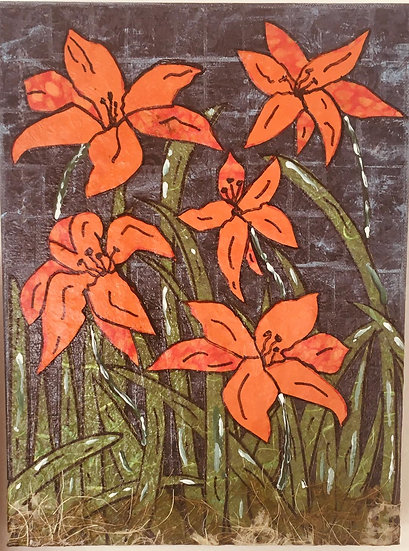 """Flowers of Forsyth - Tiger Lillies #5"""