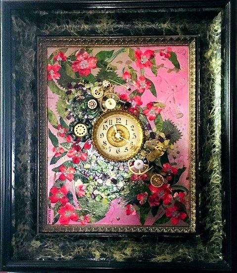 """""""Heirloom Victorian Clock"""""""