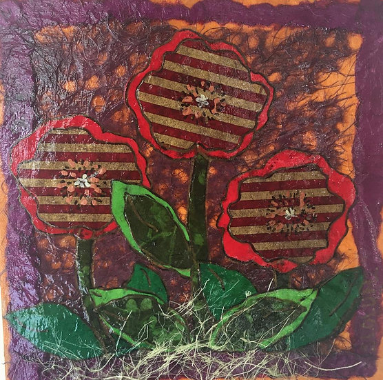 """""""Flowers of Forsyth - Striped Poppies"""""""
