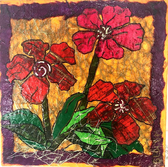 """""""Flowers of Forsyth - Open Poppies"""""""