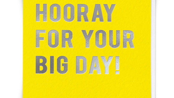 Your Big Day Card