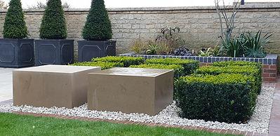 box cube planting