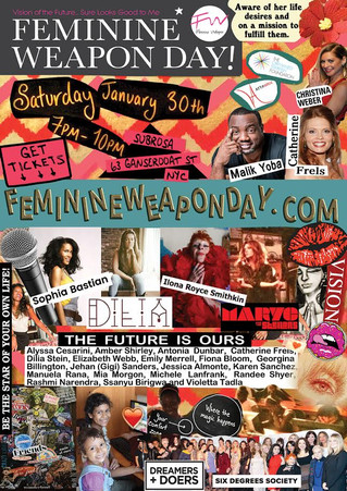 FEMININE WEAPON DAY 2016