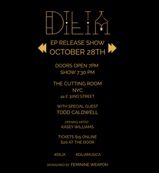 DILIA - MOONSHINE - EP RELEASE SHOW