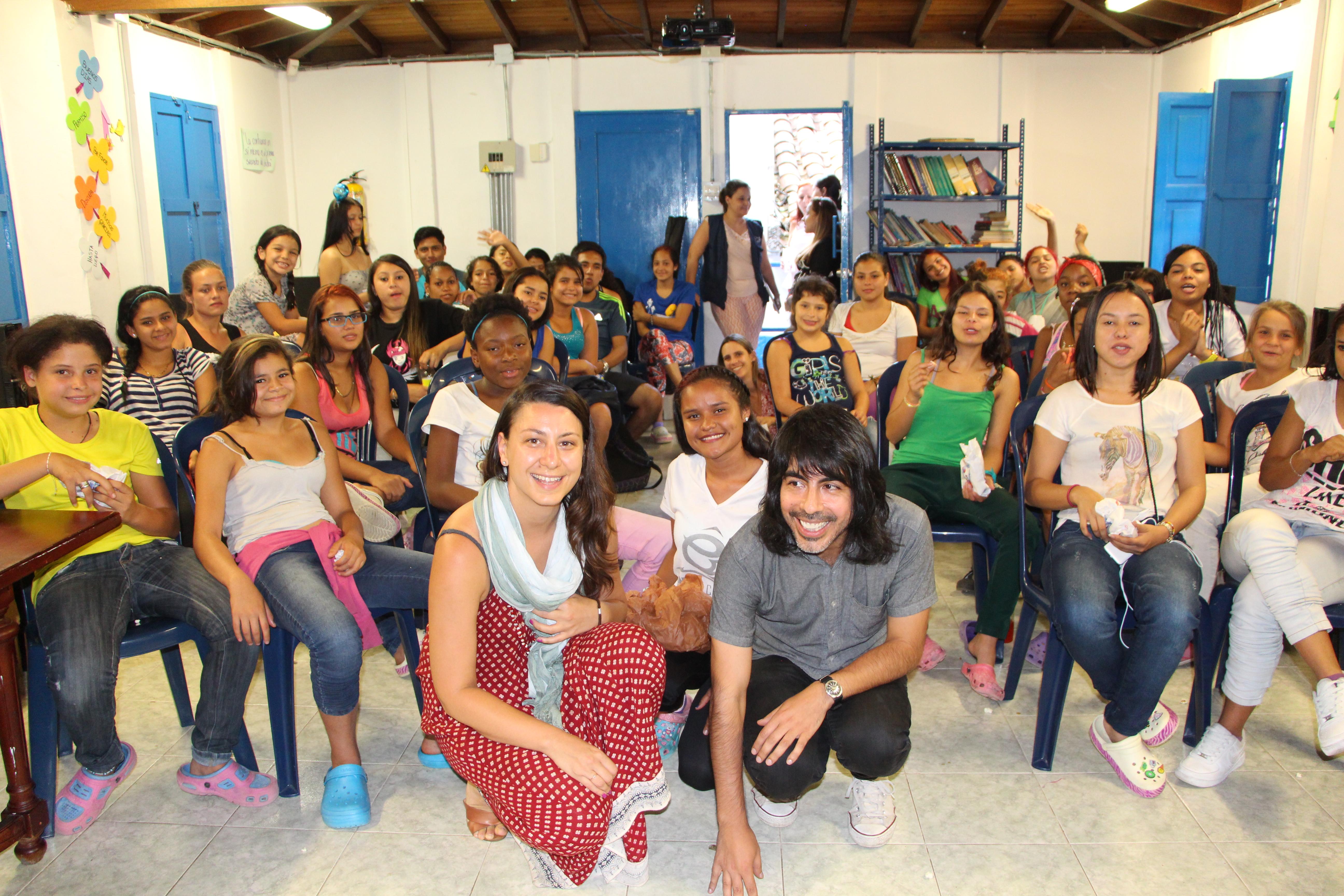 Carmen Vidal & Carlos Ledesma teach