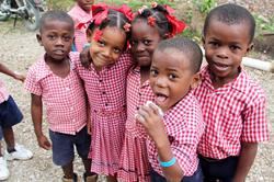 Children of HELO Haiti
