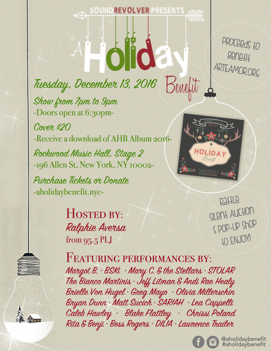 IT'S THAT TIME OF YEAR... A HOLIDAY BENEFIT IS HERE!!