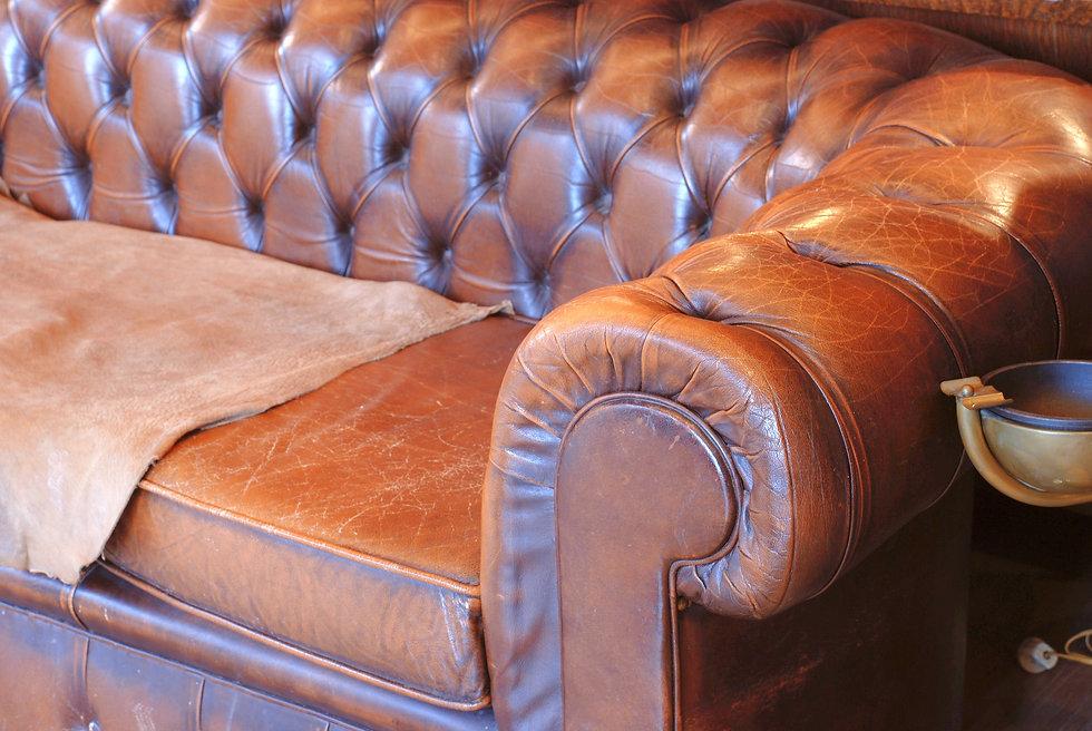 Antique chesterfield sofa