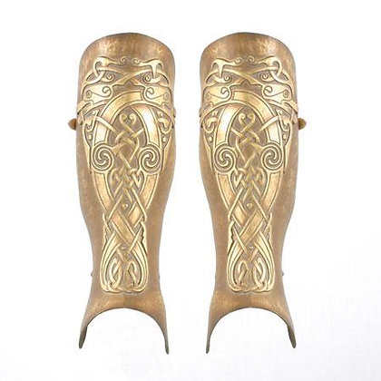 Celtic Fantasy Greaves