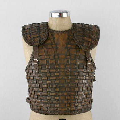 Troy Style Leather Cuirass