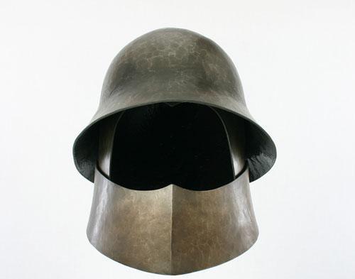 Combined Bascinet & Kettle Hat