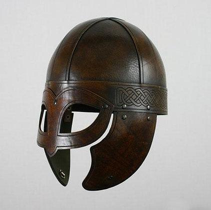Leather Beowulf Helmet