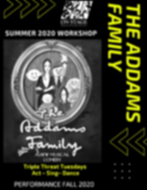 POWER OF THE PERFORMING ARTS SUMMER 2020